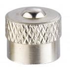 Bouchons  de valves métallique (X10)