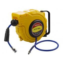 Enrouleur automatique pour tuyau d'air comprimé 15M
