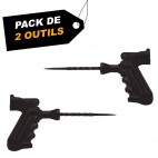 Outils pour inspecter et raper (x2) - Pack de  2 outils