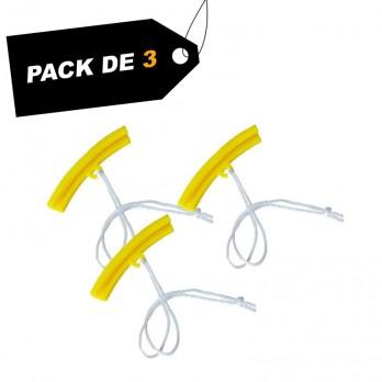 Protections de rebord de jante (x3) - Pack de 3 unités