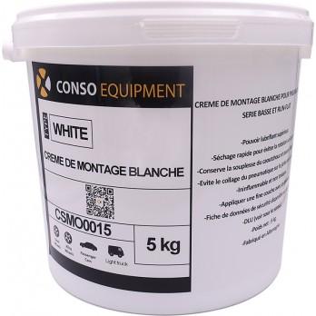 Crème de montage blanche 5 Kg (x2)