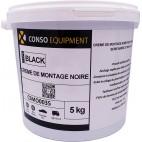 Crème de montage noire 5 Kg (x2)